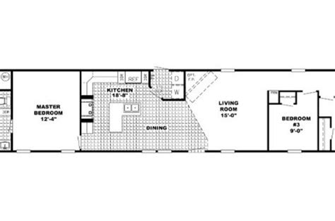 16 x 80 mobile home floor plans unique 16 x 80 mobile home floor plans new home plans design