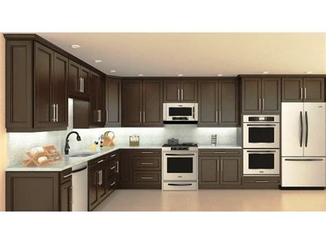 recessed kitchen cabinets chocolate maple recessed panel kitchen cabinets