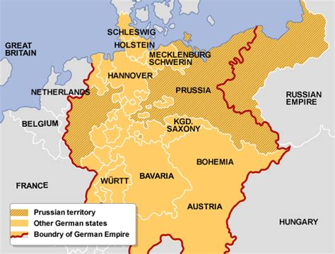prussia and the rise of the german empire books higher bitesize history bismarck and unification