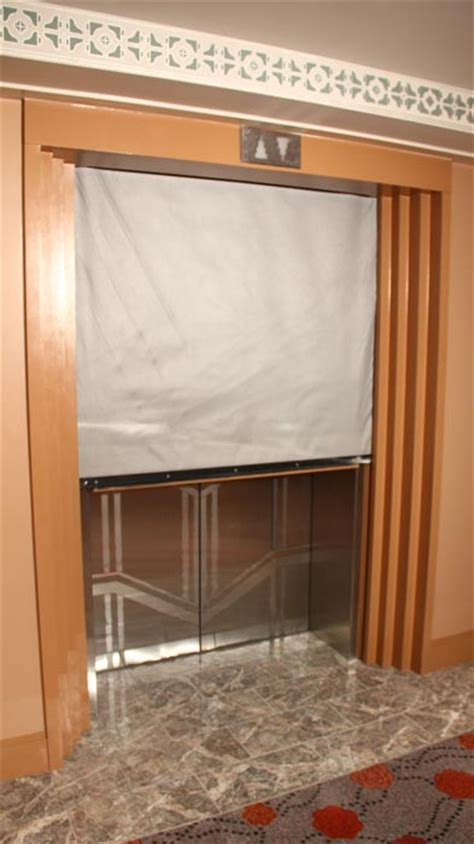 elevator smoke curtain door systems inc fire protective smoke curtains photo