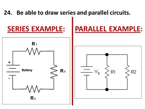 draw circuits unit v study guide electricity magnetism ppt