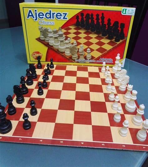 ajedrez para nios juegos 8498019540 juego de ajedrez cl 225 sico marca ronda para ni 241 os 8 a 241 os bs 7 999 99 en mercado libre