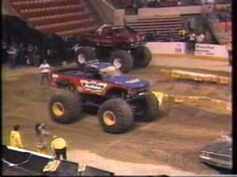 monster truck show ma 1991 ushra monster trucks worcester ma show 1 part 1
