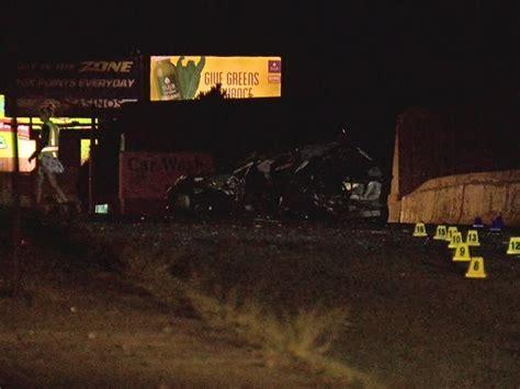 fatal car crash colorado fatal 3 car crash on colorado at i 70 was hit and run