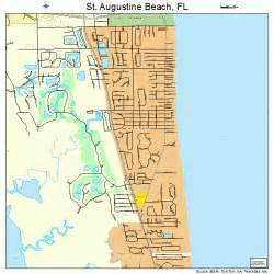 st augustine florida on map st augustine florida map 1262525