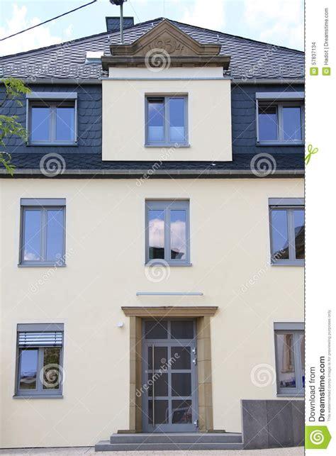 beautiful house windows beautiful house stock photo image 57837134