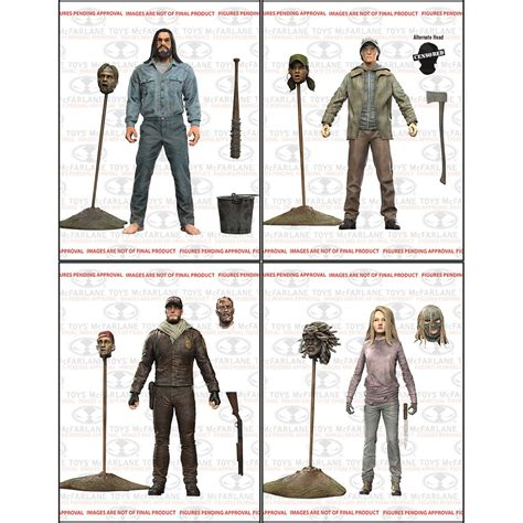 the figures the walking dead comic series 5 by mcfarlane the toyark