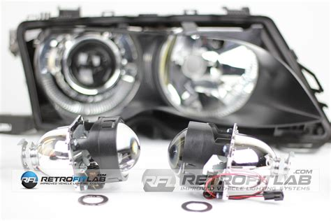 Projector Xenon bmw e46 bi xenon projector mini h1 retrofit kit retrofitlab