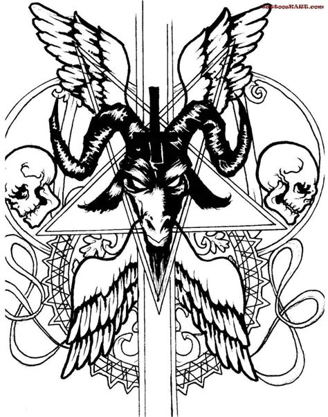 satanic cross tattoo designs 21 wonderful satan tattoos of symbol golfian