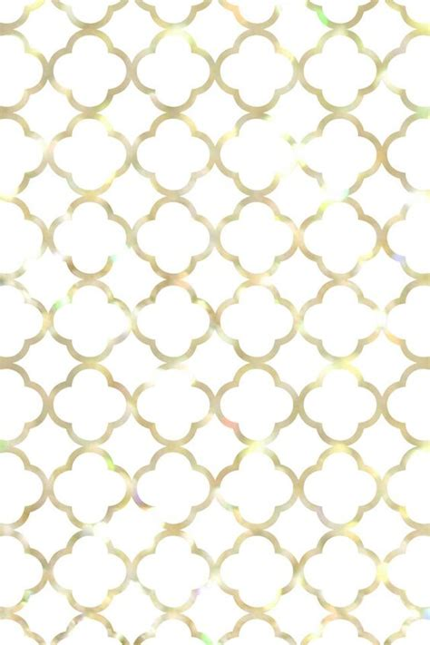 black and white quatrefoil wallpaper gold iphone wallpaper wallpapers pinterest gold