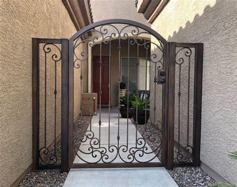 ornamental iron gates affordable fence  gates tucson