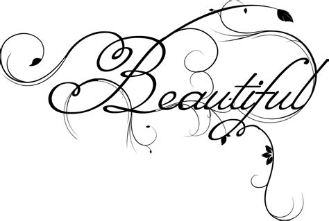 the word beautiful tattoo designs joyfully yours susannah word for