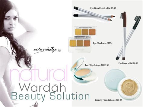 Wardah Essential Intensive aida suhaiza using wardah cosmetic https www