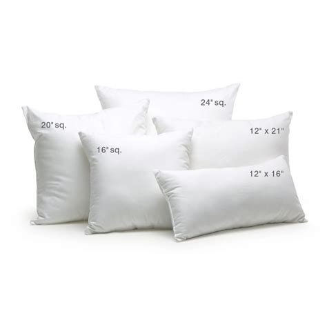 sofa pillow inserts how to fix crumpled sofa back cushions