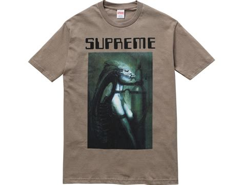 where can i find supreme clothing supreme using h r giger s for some pretty hideous