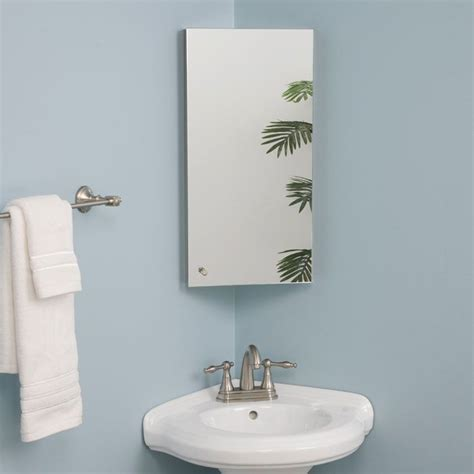 corner mirror medicine cabinet bathroom 1000 images about corner mirror on corner