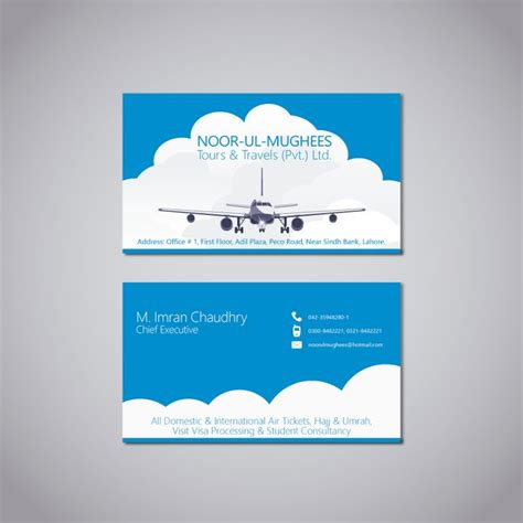 Graphicriver Travel Agency Business Card Design Template by Business Card Design For Travel Agency Branding Logos