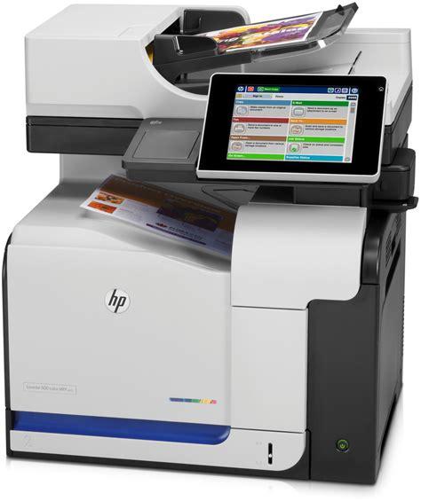 hp laserjet enterprise 500 color mfp m575dn series copierguide