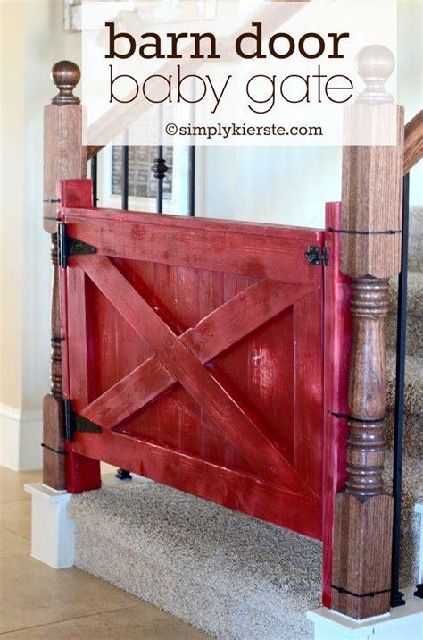 baby gate with swing open door tutorial how to install fonts barn door baby gate