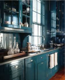 Teal Kitchen Ideas by Bold Dark Teal Kitchen Cabinets For The Home Pinterest