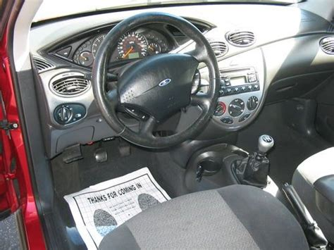 Buy Used 2001 Ford Focus Zx3 Coupe With Manual