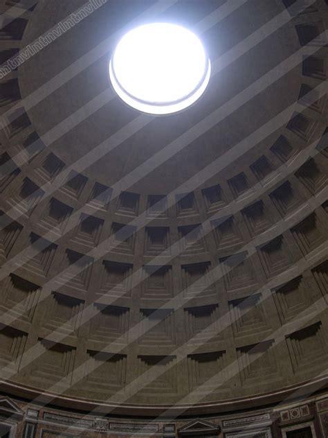 cupola pantheon foto pantheon di roma