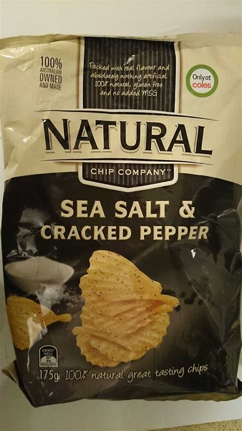 microchip companies chip company sea salt cracked pepper 175g