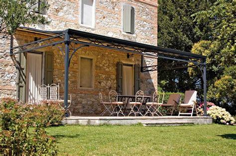 tettoia da giardino tettoie in ferro battuto pergole e tettoie da giardino