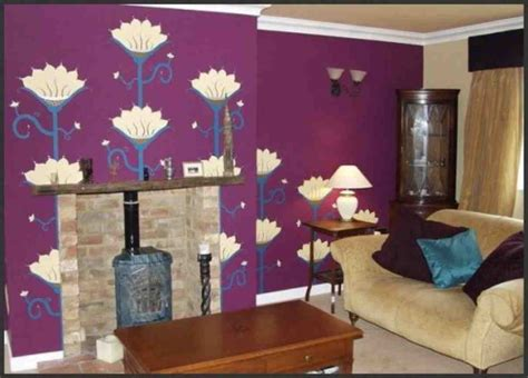 Purple Walls Living Room by Purple Walls In Living Room Decor Ideasdecor Ideas