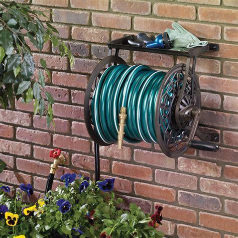 neverleak metal wall mount hose reel ames