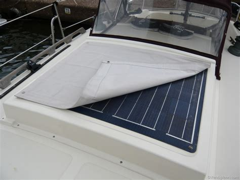 protective sun cover for a solar panel