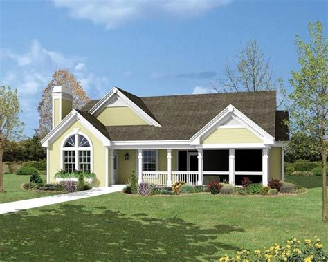Cottage Country Ranch Traditional House Plan 87800 Cottage Ranch House Plans