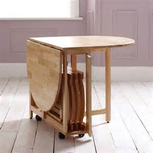 compact dining tables 20 compact tables and chairs that maximize limited space