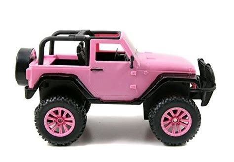 pink toy jeep girls rc vehicle pink remote radio control jeep barbie