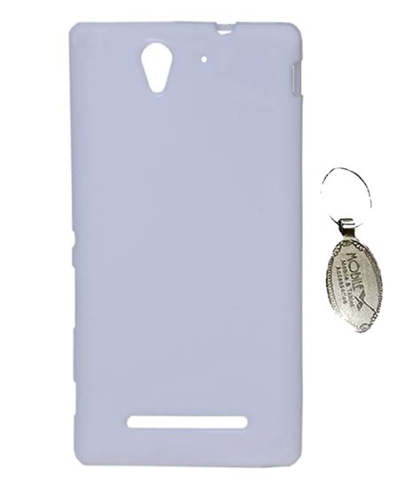 Silicon Casing Softcase 3d Sony Xperia C C3 1 axes silicon back cover for sony xperia c3 white with mobilex key chain buy axes