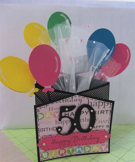 make birthday card ideas 50th birthday card marti s home crafted cards