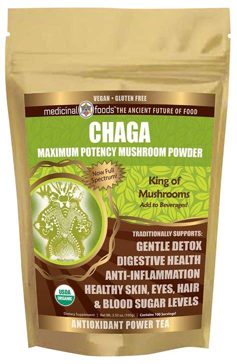 Chaga Detox by Chaga Vegan Organic Medicinal Powder