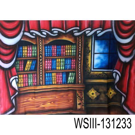 Hadiah Wisuda Manual Water Color Painting jual wsiii 131233 background wisuda rak buku grosir aksesoris kamera