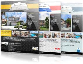 real estate listing template real estate flyer templates the best free paid list