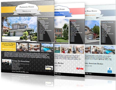 real estate property listing template real estate flyer templates the best free paid list