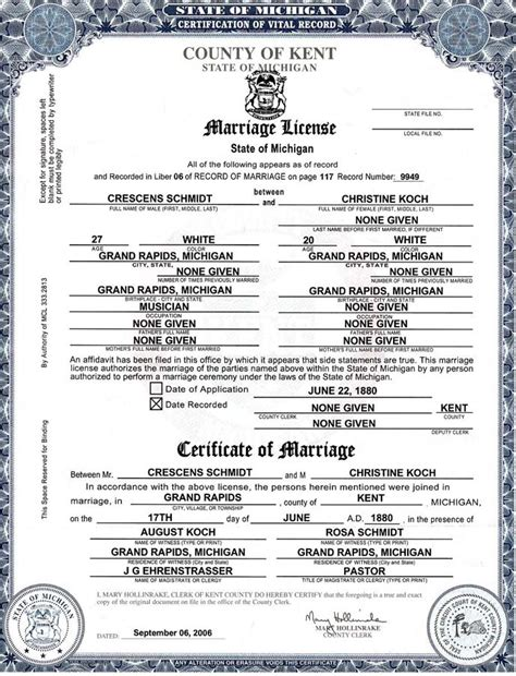 Michigan Marriage License Records Related Keywords Suggestions For Marriage License