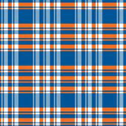blue and orange plaid golf shorts