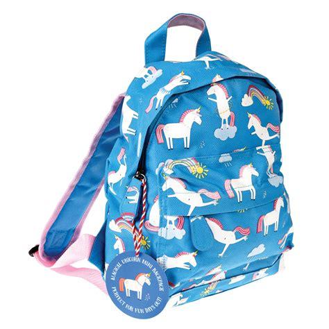 unicorn print mini backpack one green bottle