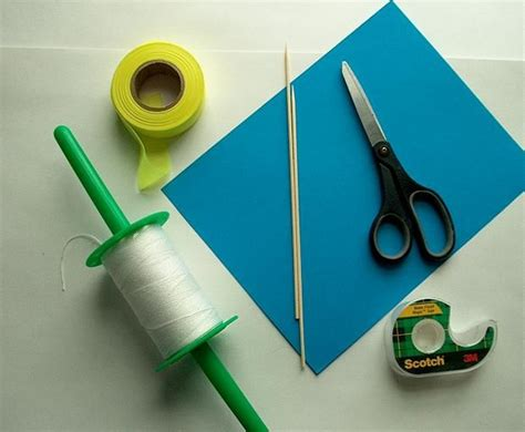 How To Make Simple Kite From Paper - easy paper kite for