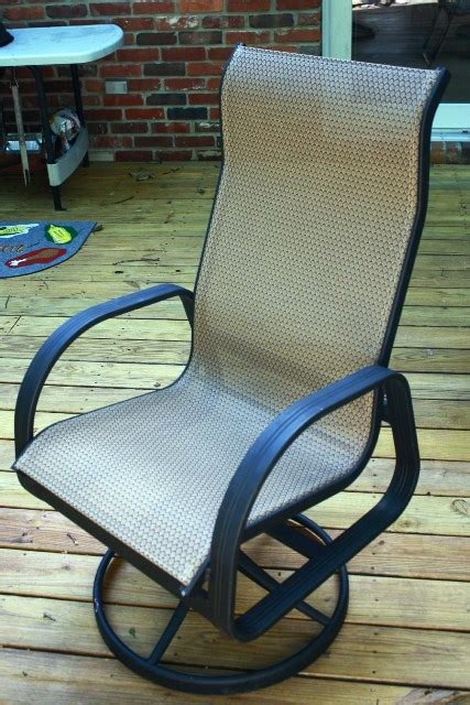 Patio Chair Material Patio Chair Sling Material Modern Patio Outdoor
