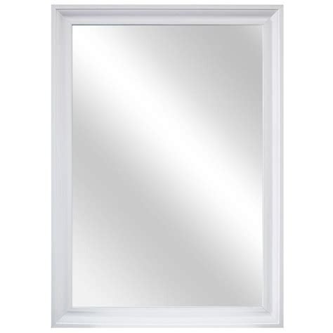 home decorators mirror home decorators collection 29 in w x 40 in l framed fog