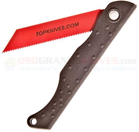 folding survival saw tops knives pocket survival saw folding knife kydex 3 in blade pssw01 osograndeknives