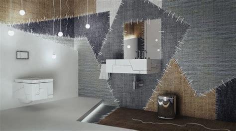 Interesting Interior Design Ideas Unique Interior Design With Floor Covered In Patchwork Szmaciarnia Home Building Furniture