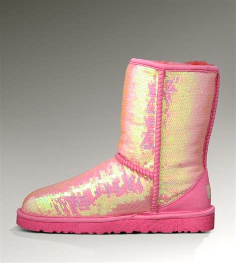 pink ugg shoes boots