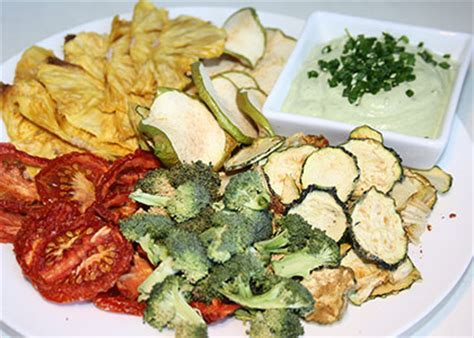 The Kripps Veggie Fruit Chips cashew dill dip with dried fruit veggie chips